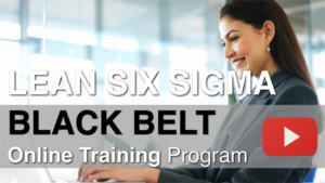 online lean six sigma black belt training